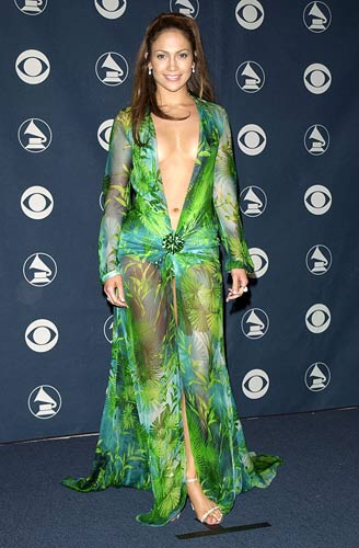 Jennifer Lopez Versace dress