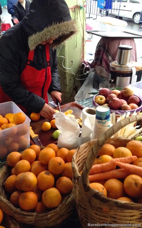 Istanbul flea market
