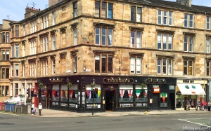 Famous bar in Glasgow